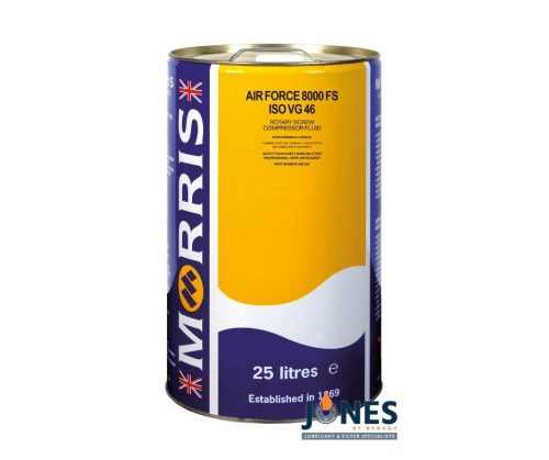 Morris Lubricants Air Force 8000FS ISO VG 46 Compressor Oil