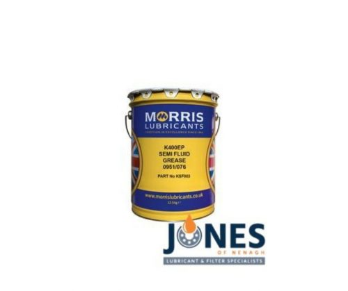 Morris Lubricants K400 EP Semi-Fluid Grease 12.5kg