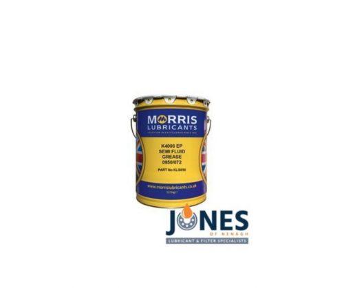 Morris Lubricants K4000 EP Semi-Fluid Grease 12.5kg