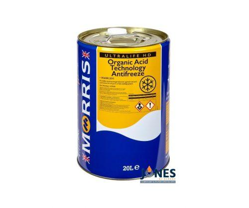 Morris Lubricants Ultra Life HD Yellow Antifreeze 20L