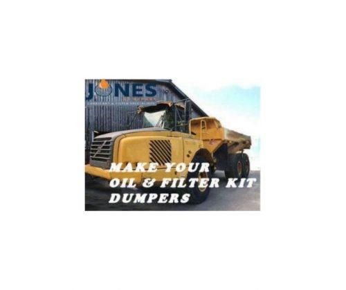 Volvo A25C Dumper Filter Kit