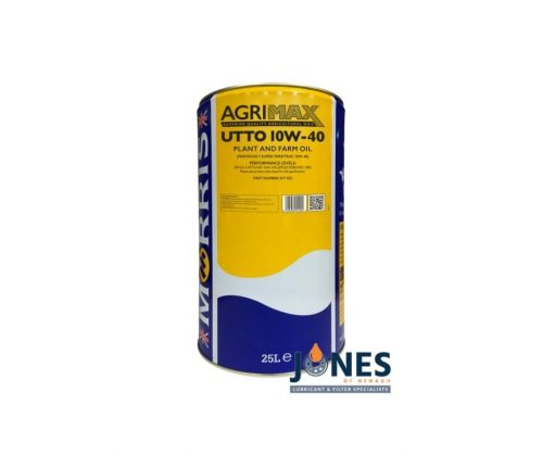 Morris Lubricants Agrimax UTTO 10W-40 Universal Plant And Farm Oil