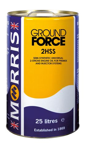 Morris Lubricants Ground Force 2HSS Synthetic Boosted 2 Stroke Oil