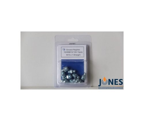 Grease Nipples M10x1 (Pack Of 10)