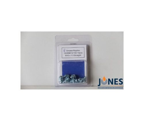 Grease Nipples M10x1.5 (Pack Of 10)